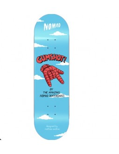 Tabla skateboard Nomad Cumshot